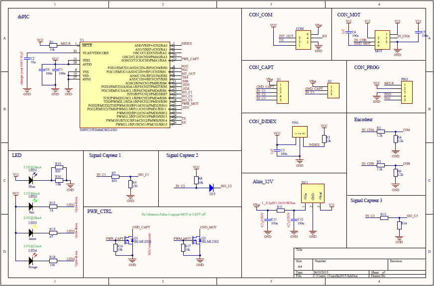 Electronic schematic.