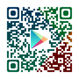 Qr code to download the app.