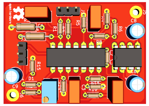 PCB (THT version)
