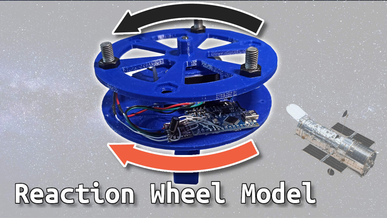 Reaction Wheel Attitude Control