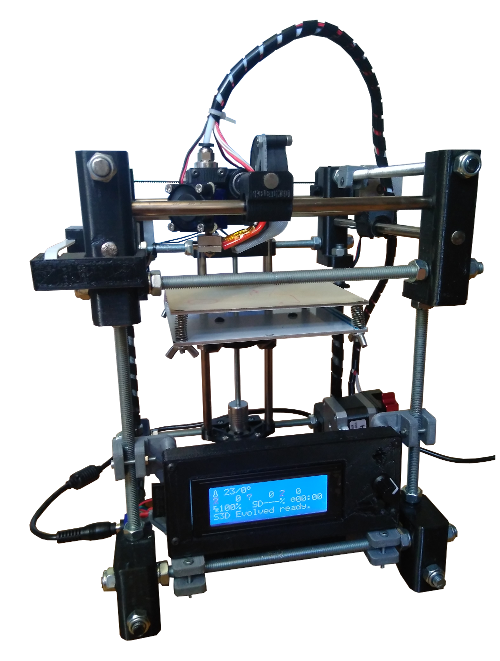 """Skeleton 3D Evolved"" 3D printer"