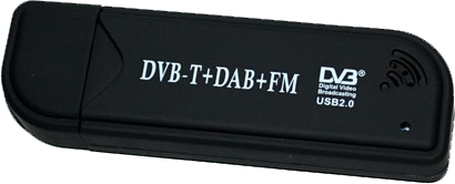 A RTL-SDR dongle