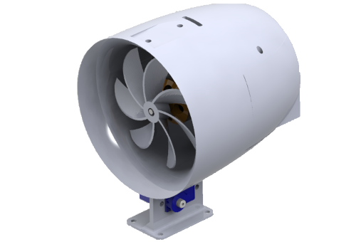 Render of the 3D model in Solidworks