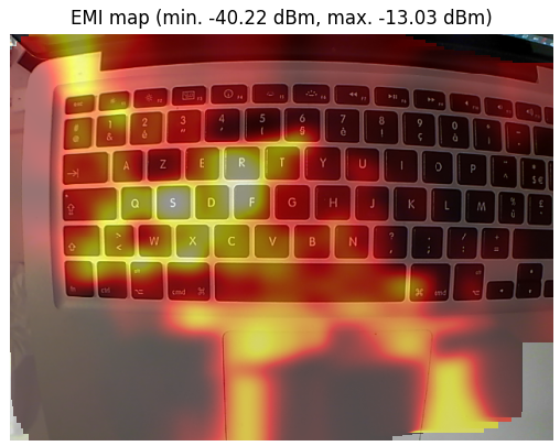 MacBook pro EMI scan
